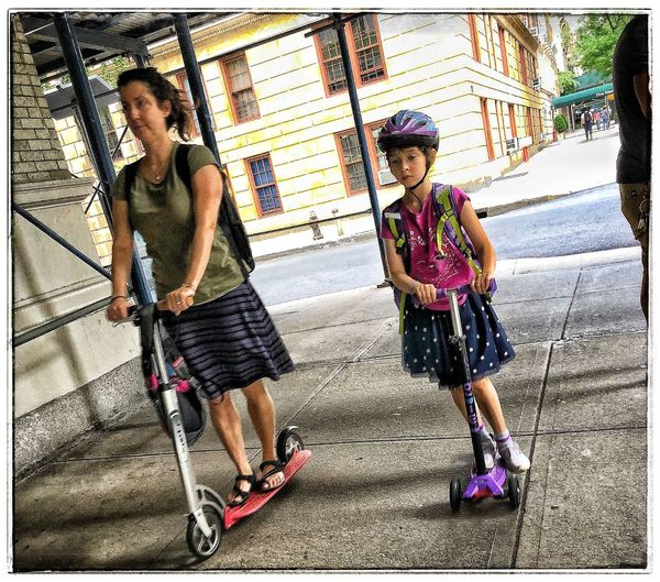 summer in da city Street Photography Girls Real People Lifestyles Child Women