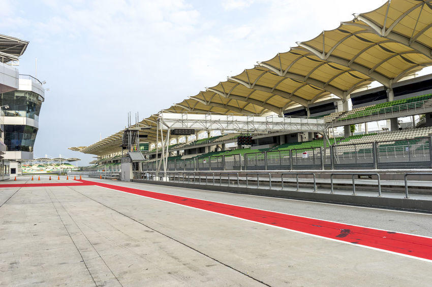 Circuit Circuit Board Engineering GP Grand Stand Grandstand Malaysia Pit Stop Practice Race Race Track Racer Seat Sepang International Circuit Spectator Sport Track
