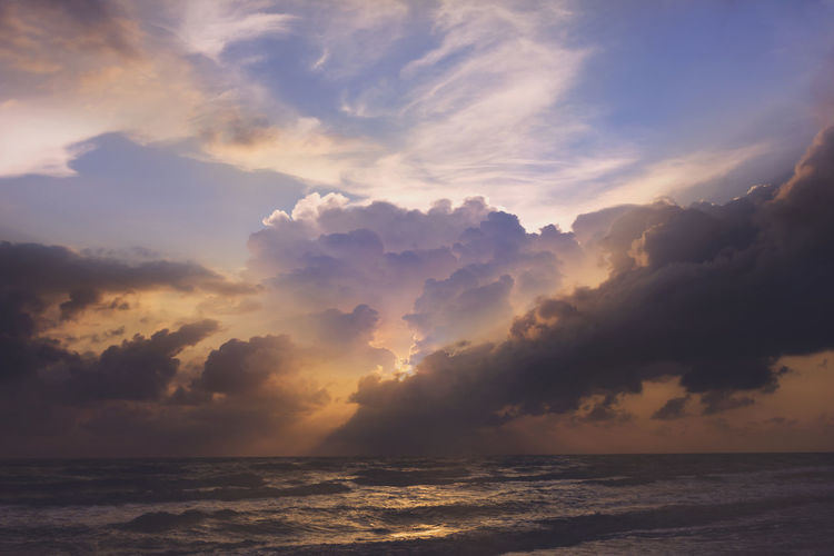 Beach Beauty In Nature Cloud - Sky Horizon Horizon Over Water Idyllic Land Nature No People Non-urban Scene Outdoors Scenics - Nature Sea Sky Sunset Tranquil Scene Tranquility Water Waterfront