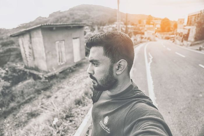 Only Men Blackandwhite Photography Blackdetails Young Men Casual Clothing Beard Outdoors Portrait Day Headshot Close-up Photo Me Sri Lanka Traveller Travel Photography TravelSrilanka Blackandwhite Monocrome Photographer Ligjtroom Menslifestyle Travelblogger Blogger Bloggerstyle