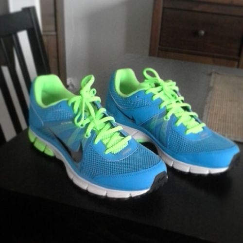 Nouvelle chaussure de sport Nike JustDoIt Athlétisme Athletism sport new shoes blue confortable teamathle