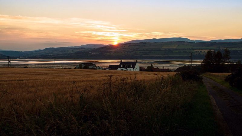 Sunset Scotland Beauty Scottish Highlands Landscape_Collection Sky Escaping Firth Rural Light And Shadow Live For The Story The Great Outdoors - 2017 EyeEm Awards