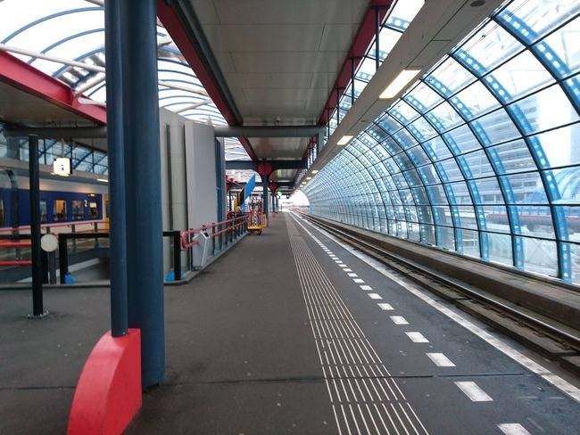 Train station Transportation The Way Forward Bridge - Man Made Structure Built Structure Day Indoors  Architecture No People City