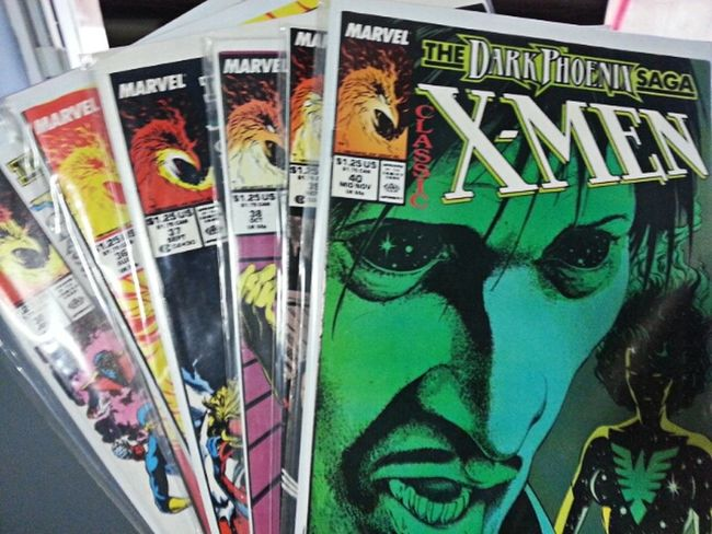 My X-Men Collection... Things That Are Green Comic Books