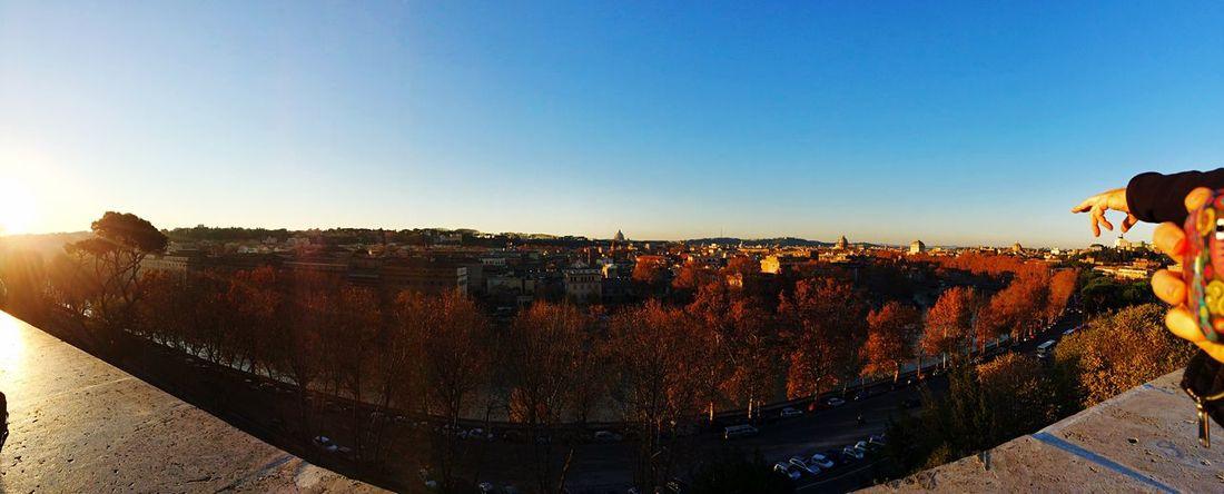 Home Rome Sunset Whataview