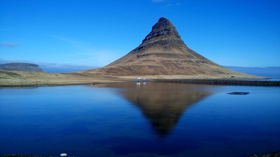 Hello World Blue Sky Blue Reflective Sky Kirkjufell Landscape_photography Nature Photography Naturelover Enjoying Life Taking Photos