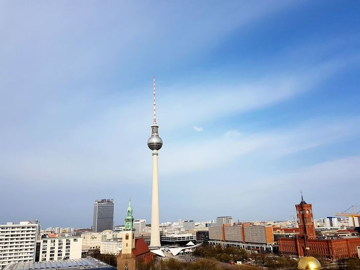 Fernsehturm Fernsehturm Berlin  View Breathtaking View Breathtaking Sceneries Breathtaking Berlin Berlin Photography City Cityscape Urban Skyline Politics And Government Antenna - Aerial Communication Global Communications Technology Tower Broadcasting Television Tower Skyscraper Skyline Panoramic The Mobile Photographer - 2019 EyeEm Awards