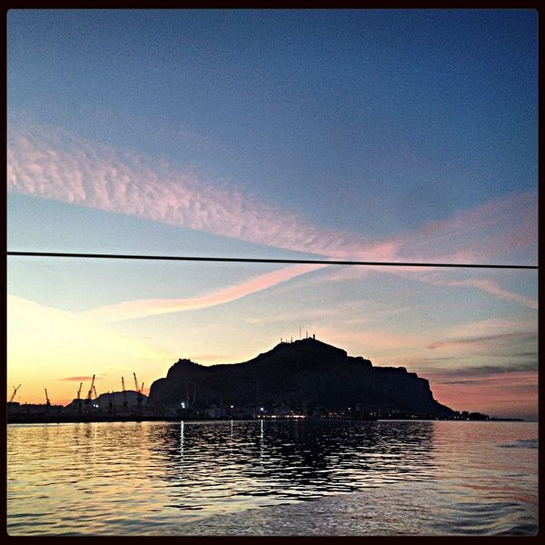 With or without us. Going Sailing Palermo Palermo Shooting Sunset