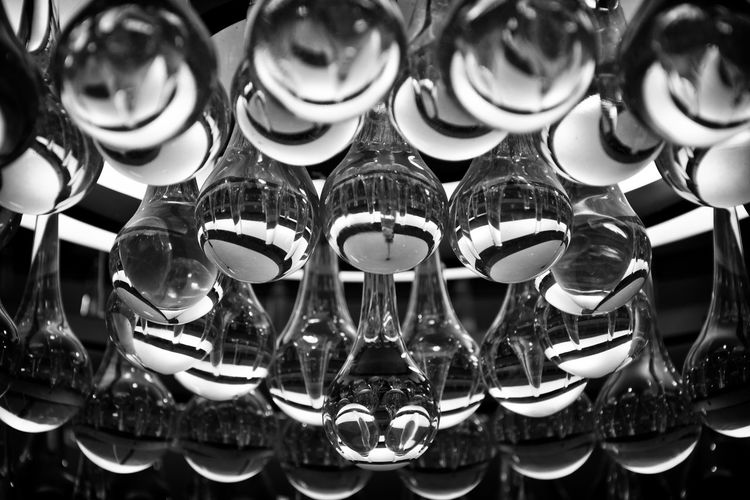 I think I shot this in Boston a few years ago, It was unearthed while I was looking for some inspiration, spending an evening going through some older shots.. pre-eyeem. The Week on EyeEm Abstract Photography Nikon D7000 Pre-EyeEm Abstract Arrangement Blackandwhite Chandelier Close-up Collection Glass High Contrast Bnw Large Group Of Objects Light Fixture Lighting Monochrome Reflecting Soothing Spheres