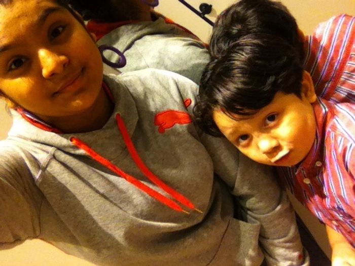 When We Was At The Storee :)