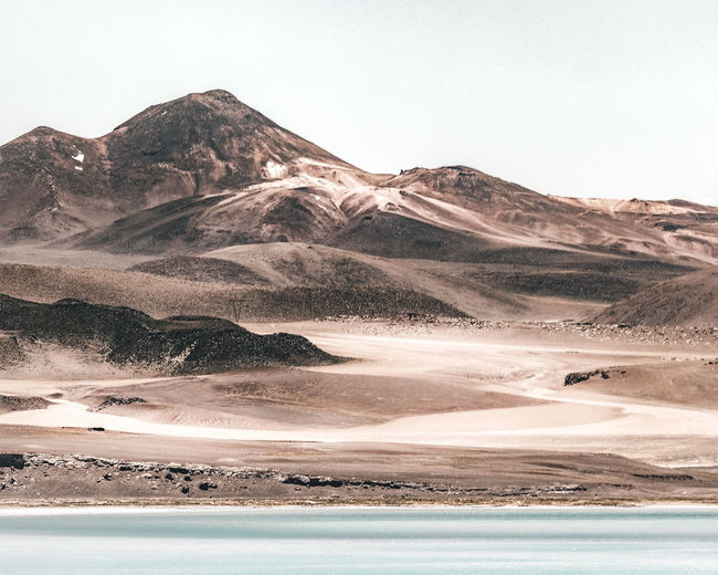 Salar in northern chile