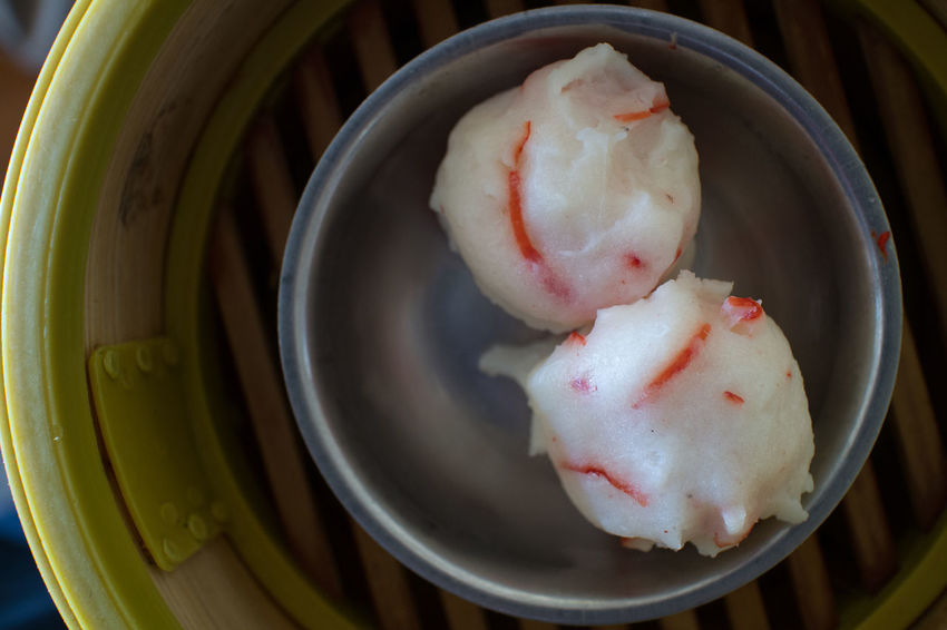 Dim Sum or Steamed Chinese Dumpling in Bamboo Trays by Local Street Food Vendors Appitizer Asian Food Chinese Dumpling Chinese Food Delicious Dim Sum Dumpling  Food Food And Drink Freshness Healthy Eating Meal Steamed Dumplings Streetfood
