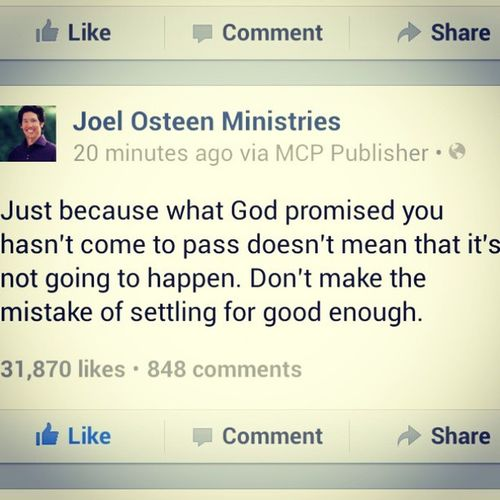Words of the day!! JoelOsteen Great Lovehisadvice