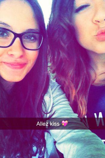 Blouw Enjoying Life Kiss Kiss ❤