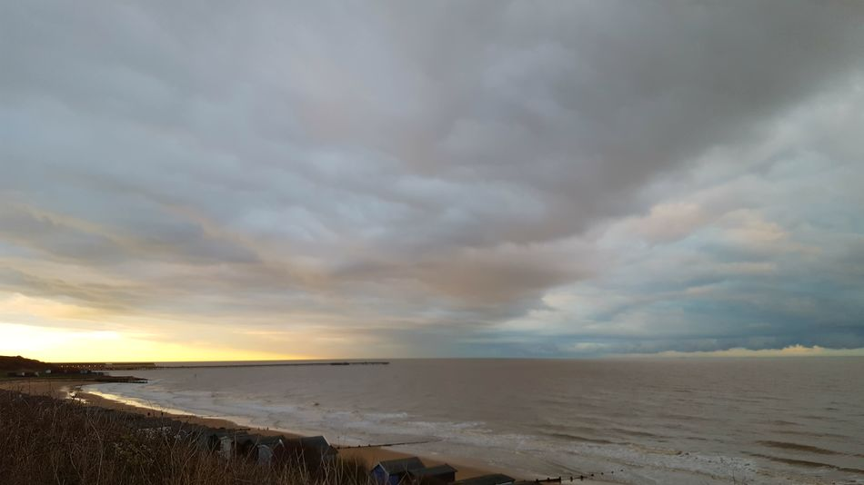 Frinton-on-Sea Frinton On Sea Frinton Walton On The Naze Horizon Over Water Dramatic Sky