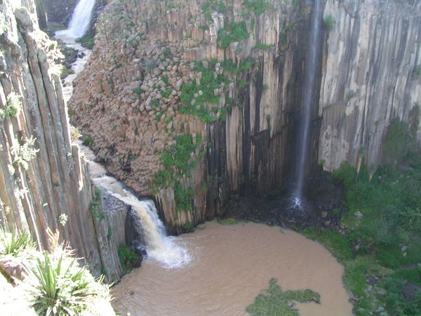 Prismas Basalticos de Santa Maria Regla Basalt Rock Cliff Nature No People Outdoors River Scenics Water Waterfall