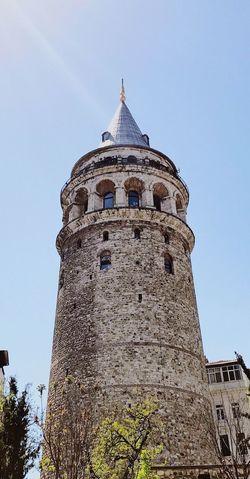 Day Galata Tower Galata Tower Istanbul Galatakulesi