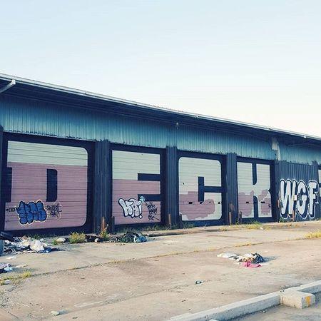 Graffiti Deck Wgf Houston streetart vscocam