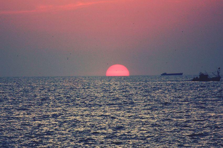Goa_Diaries Beautiful Sunset Vivanta_By_Taj