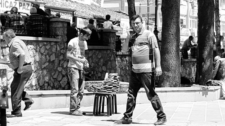 I miss Simit from Turkey Simitçi Taze Satış Memleket Vacation Turkey Tokat People Pedestrians Daily Life B&w Street Photography Check This Out Must See