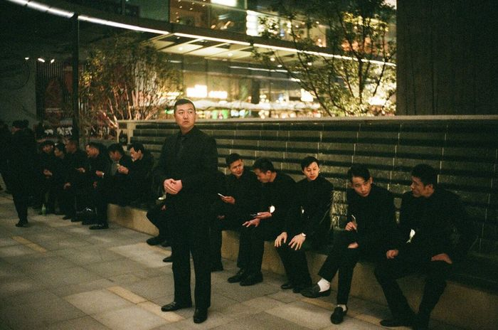 Body Guard Security Full Length Men Large Group Of People Group Of People Indoors  Women Sport Lifestyles People Togetherness Standing Day Adult Adults Only Crowd City Young Adult Men In Black Matrix Agent Smith