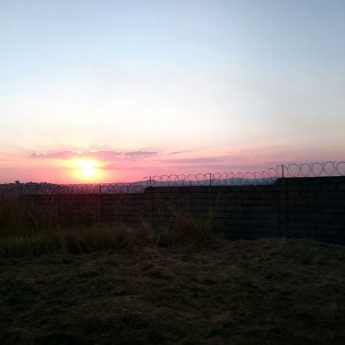 Sunset Airport Belohorizonte Wall Ivan_mont