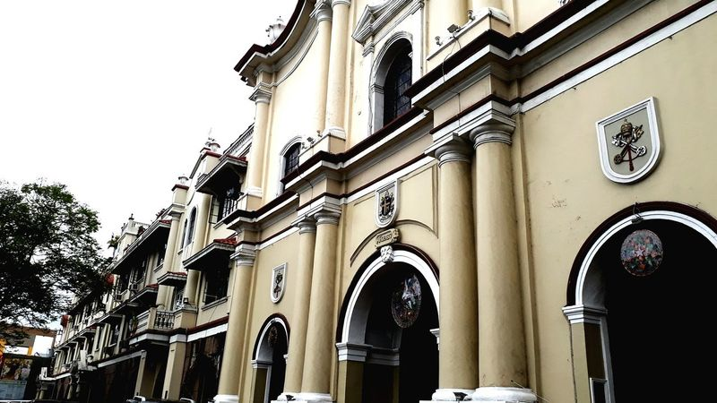 firmitas #heritage #MalolosBulacan #church Architectural Column Arch History Architecture Building Exterior Built Structure