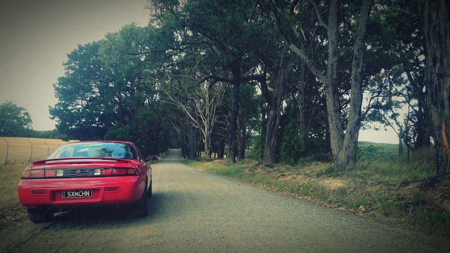 Her first adventure S14 S14a Kouki SXMCHN Koukisandcreme 200sx 240sx Nissan Silvia Schassis Jdm Adm Enkei Enkeiwheels Enkeirs First Eyeem Photo Cars Australia Japcars Photooftheday Outback Aussie Melbourne