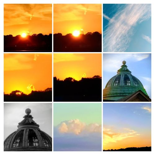 EyeEmNewHere GOD Bless America. GOD Bless U.S.A. EyeEmNewHere Digital Composite Sky Dome Architecture Cloud - Sky Building Exterior Collage No People Multiple Image Outdoors Day Cloudscape Abstract First Eyeem Photo Close-up USA Beauty In Nature Low Angle View Full Frame Weather Tranquility Pennsylvaniaphotography Pennsylvania Pittsburgh Nature