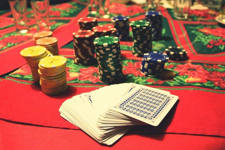 Shall we play? Poker Night Gambling Friends Playing GsmeTime