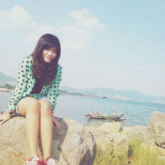 Enjoying Life Beach Girl Casual Selfportrait Beautiful Nature EyeEm Nature Lover