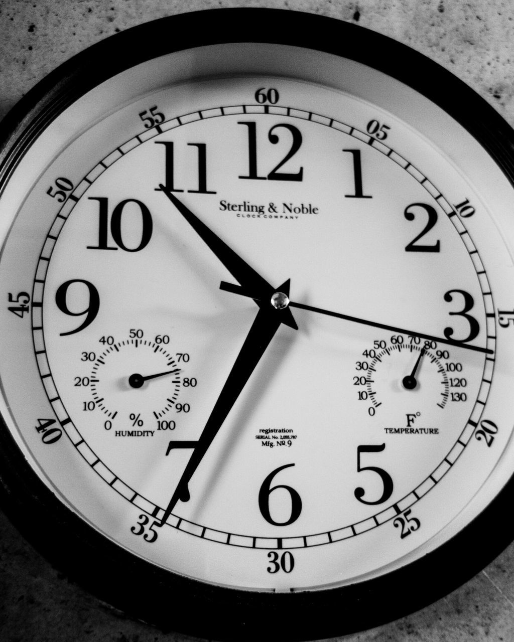 time, number, clock, minute hand, accuracy, communication, close-up, clock face, text, no people, indoors, hour hand, day, gauge, roman numeral