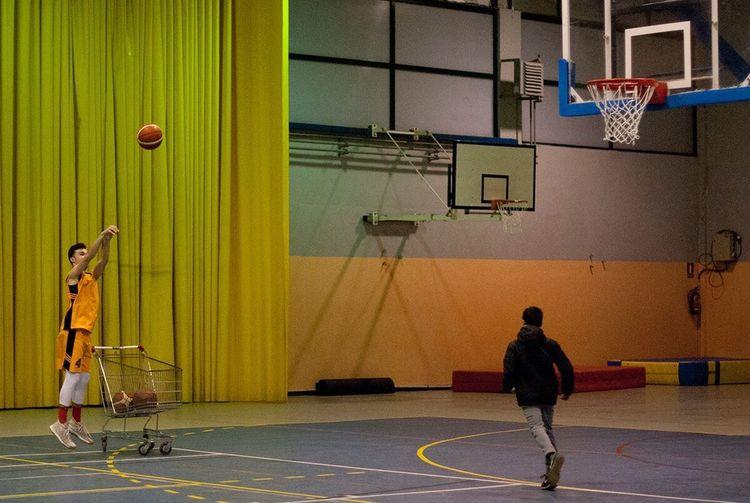 Shooter 👌🏀 Basketball - Sport Sport Court Basketball Hoop Basketball Player Full Length Sportsman