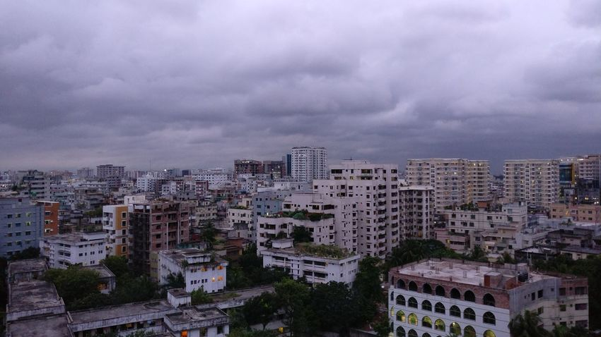 Noedit Nofilter Hdr_lovers HDR Sky Residential Building Residential Structure Skyscraper Cityscape Cloud - Sky Tall - High City Residential District Oneplusthree Oneplus3
