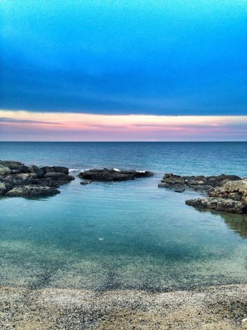 Goodbye Hanging Out Sea And Sky HDR Collection Landscape_Collection