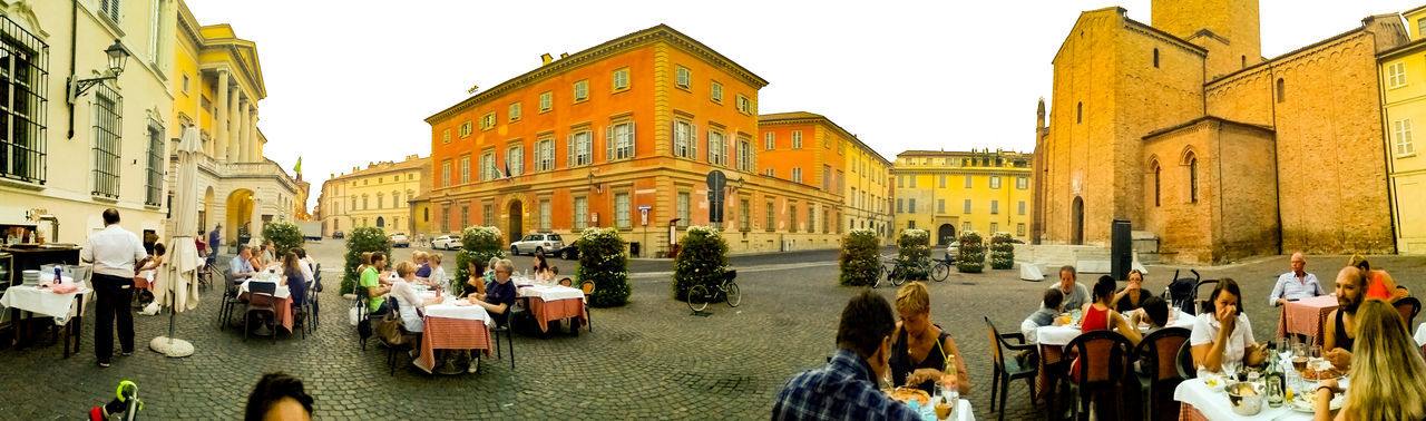 Open space restaurant Piacenza, Italy Restaurant Italy❤️ Historical Building Historical Center