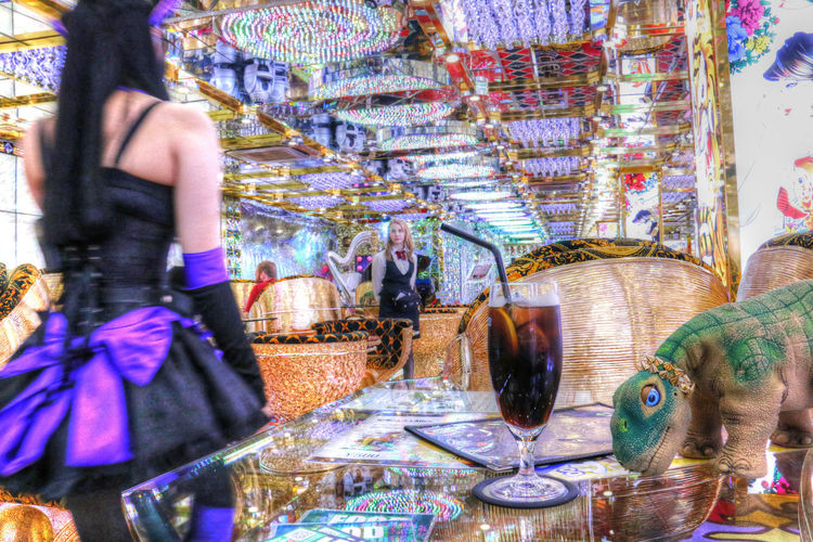 Futuristic Gaudy Japan Japanese Culture Outrageous Psychedelic Robot Robot Restaurant Robot Show Tokyo