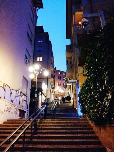 Stairs Christmas Switzerland Lugano Lugano, Switzerland TICINO ♡ Samsung Galaxy A5 Urbanphotography Urban Photography