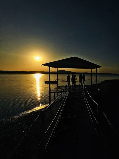 Water Sunset Tranquility Nature Travel Destinations Sky Beauty In Nature Paraguay Sanbernadino Colour Of Life Paradise On Earth Peaceful Place Sunlight