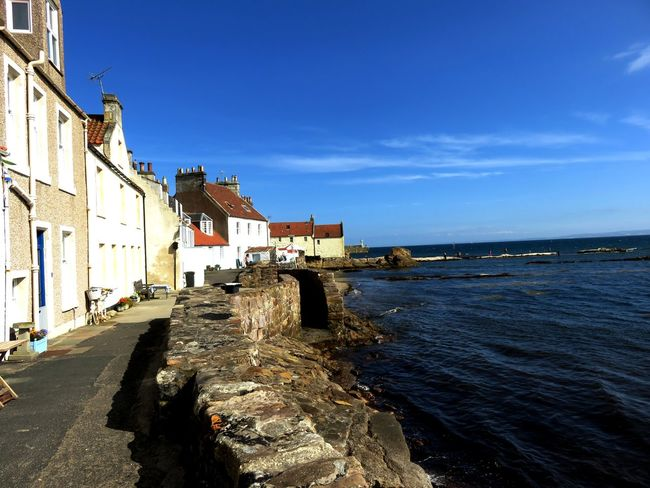 The shore at Pittenweem in Fife, Scotland. Architecture Building Exterior Built Structure City Day Nature No People Outdoors Pittenweem Sea Sky Water