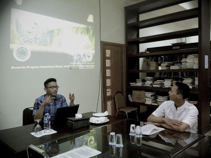 presenter of islamic studies Darussalam University Studying Presentation Library