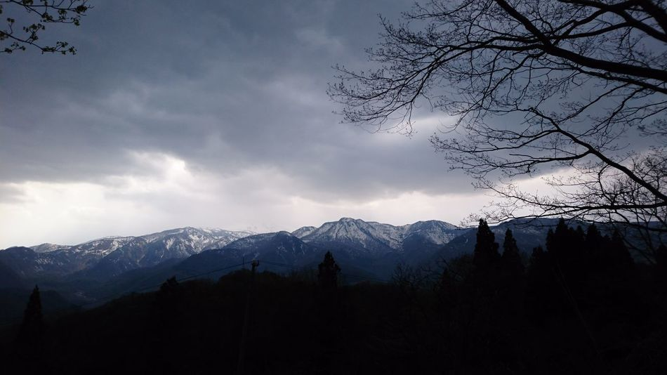 Mountain Nature Cloud - Sky Outdoors Japan Nagano Otari