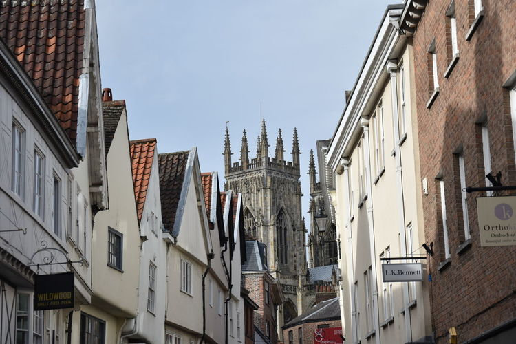 Architecture Architecture_collection Historical Building Nikon York York Minster  Architectural Feature Architecture Building Building Exterior Buildings Built Structure City Day Low Angle View No People Outdoors Sky