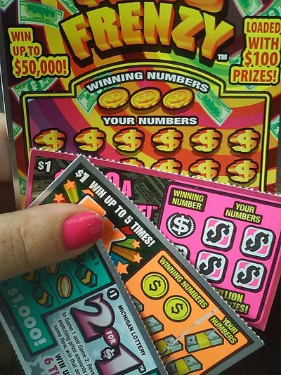 The Purist (no Edit, No Filter) Scratch Off Lotterytickets Colorful