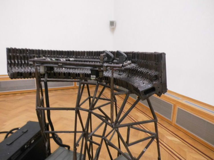Art Arts Culture And Entertainment ArtWork Gallery Installation Recycle Steel Technology