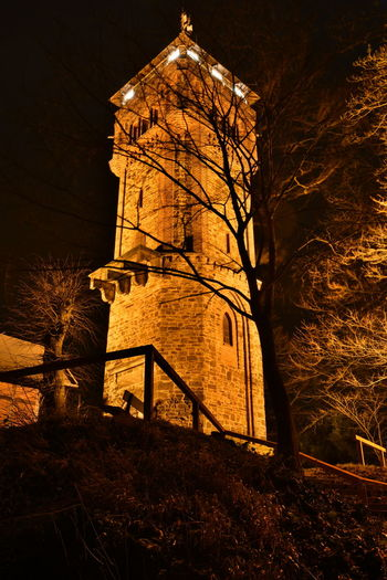 Befestigung Befestigungsanlage Dark Darkness Hameln Klüt Klütturm Night Lights Nightphotography Travel Turm Bulb Bulbs darkness and light Illuminated Langzeitaufnahme Langzeitbelichtung Night Nightview No People Outdoors Seightseeing Stadtwall Tower Travel Destinations