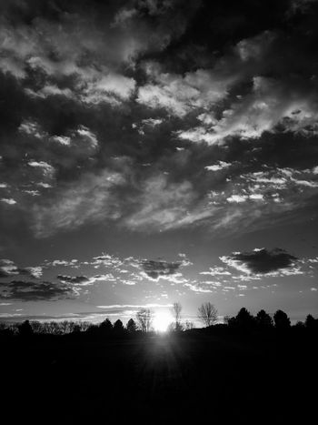 Morning In Mourning Morning Sun Macabre Photo Dramatic Sky Cloudscape Macabre Silhouette Warhol Inspired Sunrise Silhouettes Darkart Dark Art Park Photography Sunrise And Clouds Landscape Silhouette Sunrise Silhouette Sunrise_Collection Beauty In Nature Fall Collection Landscape_Collection Cloudporn Morning Light Illuminated Landscape October Anticolors The Great Outdoors - 2017 EyeEm Awards