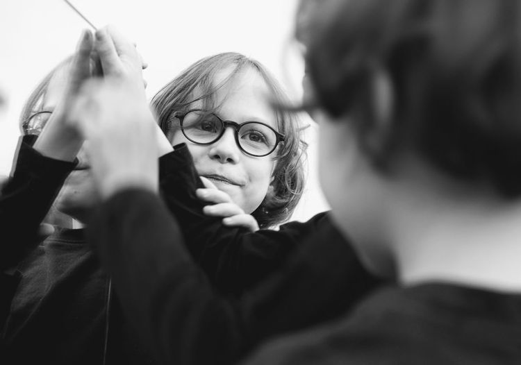 BoysBoysBoys Boys Child Childhood Close-up Day Eyeglasses  Headshot Holding Human Hand Leisure Activity Outdoors People Real People Selective Focus Smiling Summer