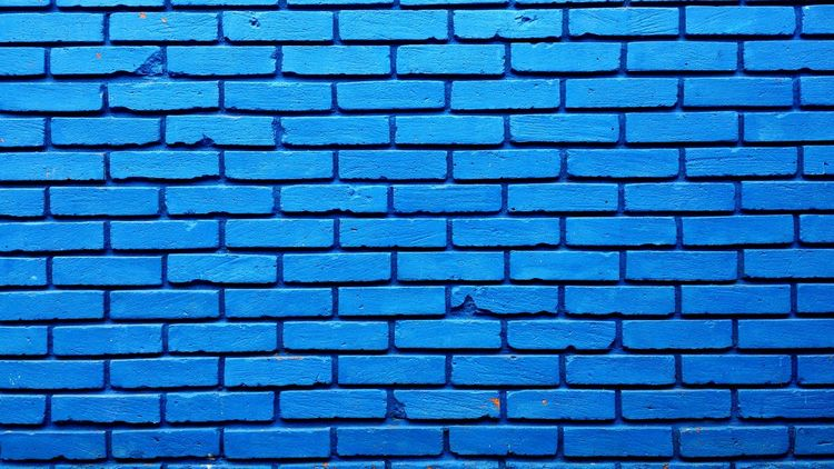 Wall Pared . Azul Blue