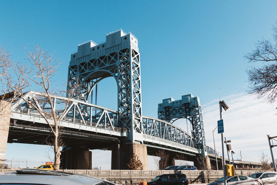 Architecture New York New York City VSCO Architecture Bridge Bridge - Man Made Structure Built Structure City Clear Sky Connection Day Low Angle View No People Outdoors Sky Transportation Vscocam